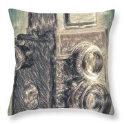 Lomo Throw Pillow by Taylan Soyturk