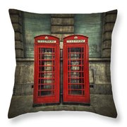 London Calling Throw Pillow by Evelina Kremsdorf
