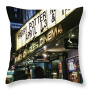 London Scene 1 Throw Pillow by Jasna Buncic