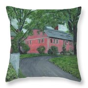 Longfellow's Wayside Inn Throw Pillow by Cliff Wilson