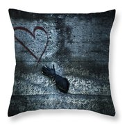longing for love Throw Pillow by Joana Kruse