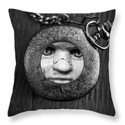 Look behind you Throw Pillow by Edward Fielding