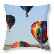 Looking Up Throw Pillow by Carol Groenen