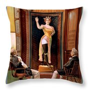 Looks Like The Real Thing Throw Pillow by Terry Reynoldson