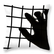 Lost Freedom Throw Pillow by Olivier Le Queinec