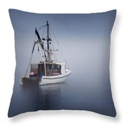Lost Square Throw Pillow by Bill Wakeley