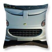 Lotus Elise Throw Pillow by Jill Reger