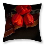 Love and Romance Throw Pillow by Edward Fielding
