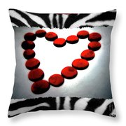 Love Comes Over You Throw Pillow by Molly McPherson