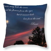 Love From The Soul Throw Pillow by Bill Wakeley