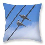 Love Is In The Air Throw Pillow by Chrisann Ellis