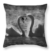 Love Is.. Throw Pillow by Nina Stavlund
