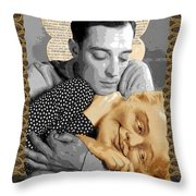 Love Throw Pillow by Mountain Dreams