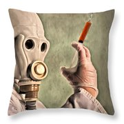 Love Potion Throw Pillow by Michael Pickett