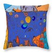 Love Sick Throw Pillow by Deborah  Montana