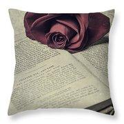 Love Stories Throw Pillow by Joana Kruse