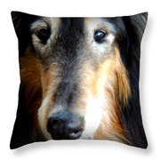 Loved Throw Pillow by Rabiah Seminole