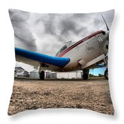 Low Level Throw Pillow by Paul Job