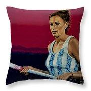 Luciana Aymar Throw Pillow by Paul Meijering