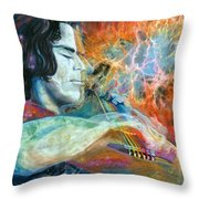 Lullabies For Nebulas Throw Pillow by Kd Neeley
