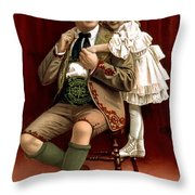 Lullaby Yodel Throw Pillow by Terry Reynoldson
