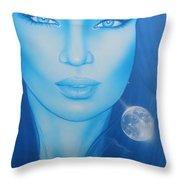 'lunarium' Throw Pillow by Christian Chapman Art