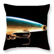 Lured 2 Throw Pillow by Cheryl Young