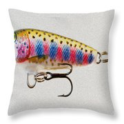 Lured Throw Pillow by Cheryl Young