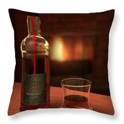 Macallan 1973 Throw Pillow by Adam Romanowicz