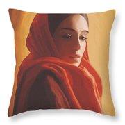 Maeror Throw Pillow by SophiaArt Gallery