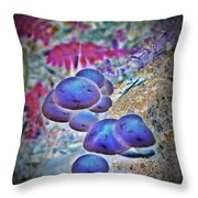 Magic Little Buttons 2 Throw Pillow by Chalet Roome-Rigdon