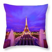 Magic Moment Throw Pillow by Midori Chan