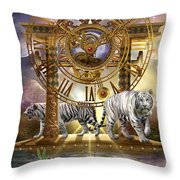 Magical Moment in Time Throw Pillow by Ciro Marchetti