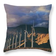 Make It Through Throw Pillow by Laurie Search