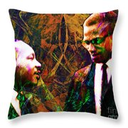 Malcolm and The King 20140205 Throw Pillow by Wingsdomain Art and Photography