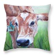 Manchas Throw Pillow by Kelci Pauk