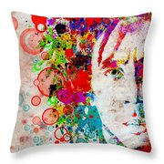 Marley 4 Throw Pillow by MB Art factory