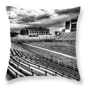 Martin Stadium On The Washington State University Campus Throw Pillow by David Patterson