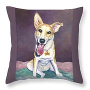 Maude Throw Pillow by Catherine Garneau