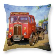 Maudslay Meritor Throw Pillow by Mike  Jeffries