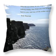 May the Sun Shine all Day Long Throw Pillow by Jerry Cannon