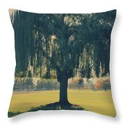 Maybe We'll Find It Someday Throw Pillow by Laurie Search