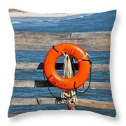 Mbsp Pier Throw Pillow by Jessica Brown
