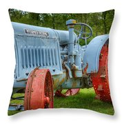 Mccormick Deering Throw Pillow by Bill Wakeley