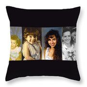Me Throw Pillow by Angelina Vick