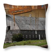 Measure Of Time Gone By Throw Pillow by Liane Wright