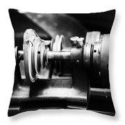 Mechanism Throw Pillow by Karol Livote