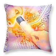 Medical Discovery Composite Throw Pillow by Design Pics Eye Traveller