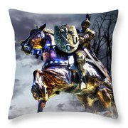 Medieval Throw Pillow by Dan Stone