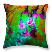 Medusas On Fire 5d24939 P128 Throw Pillow by Wingsdomain Art and Photography